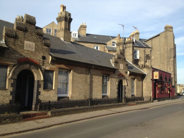 Almshouse at King Street Cambridge